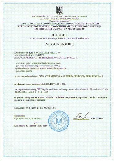 21 licenziya - Документи