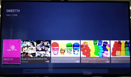 Щоб встановити програму SWEET.TV на телевізори SAMSUNG OS TIZEN з 2015 року випуску - sweet manual 2.2 ott-telebachennya